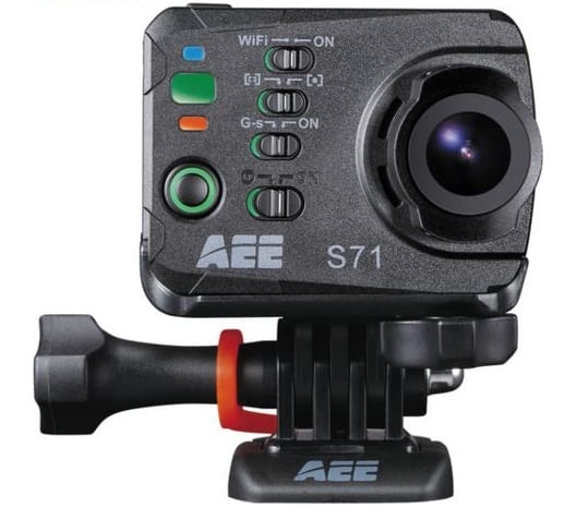 AEE S71 16MP, 4K Wi-Fi Action Camera, sports camera