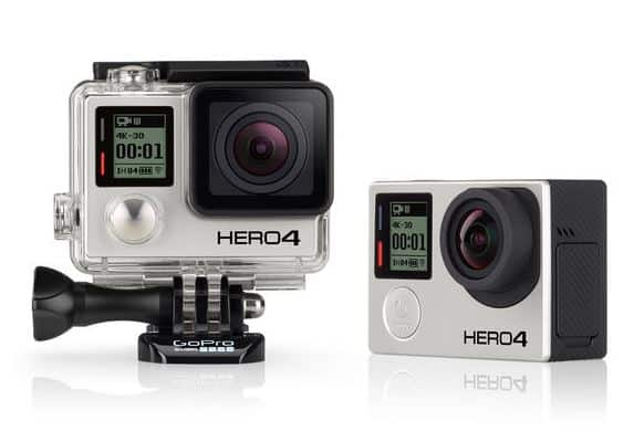 GoPro Hero 4, 4K action camera, sports camera
