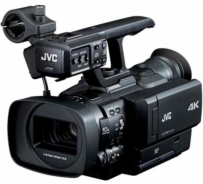 JVC GY-HMQ10, 4K camcorders
