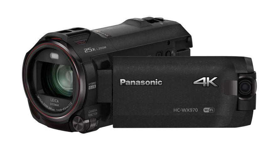 Panasonic HC-WX970, 4K Camcorders