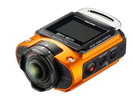 WG-M2, Ricoh action camera, 4K sports camera