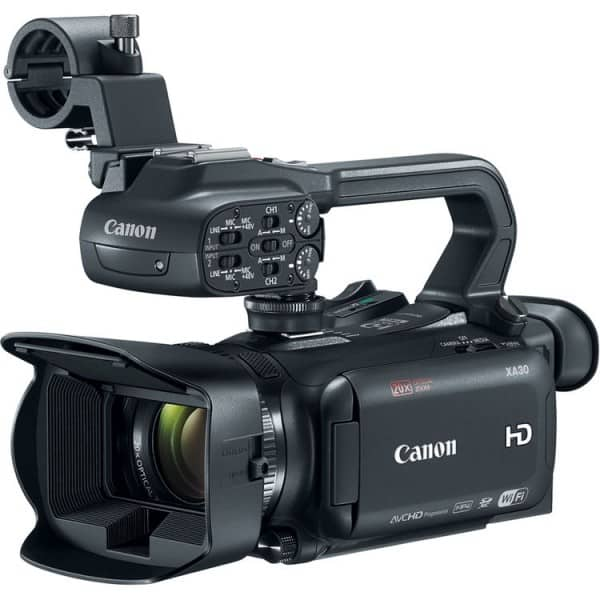 Canon XA30, professional camcorders, XA30 review
