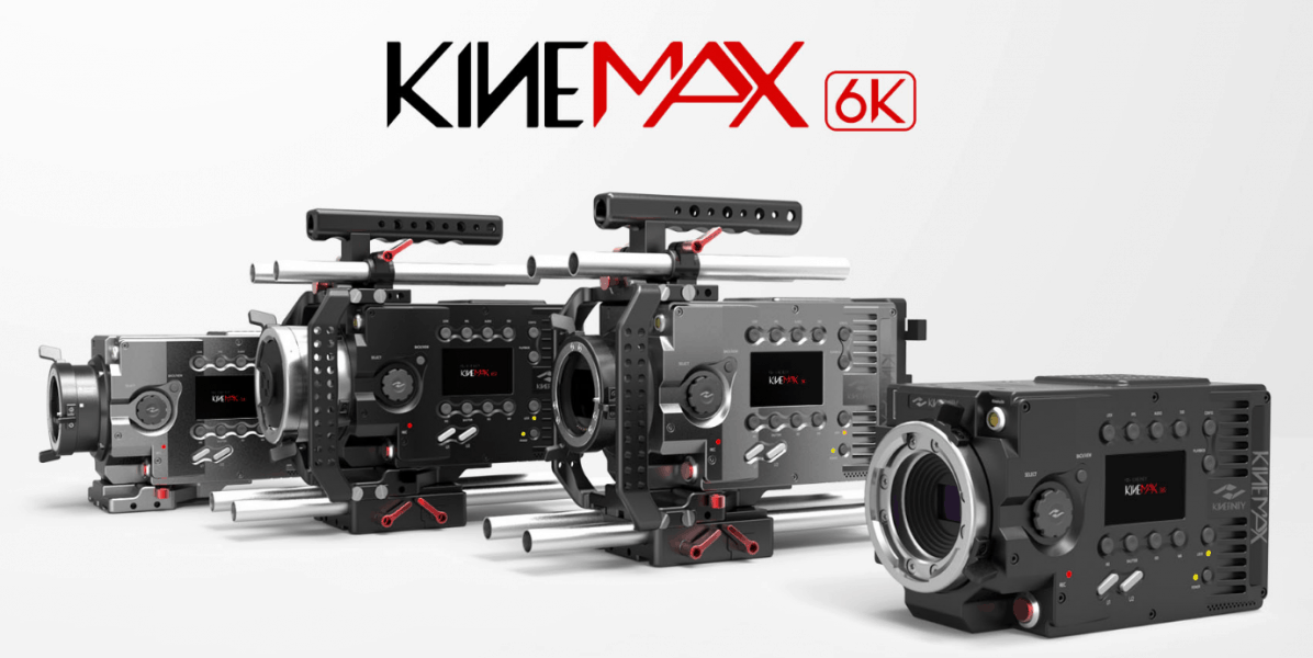 Kinefinity 6K camera, 6K resolution, KineMAX 6K camera