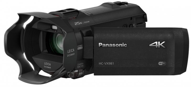 Panasonic HC- VX981K, 4K camcorders, HC- VX981K camcorder