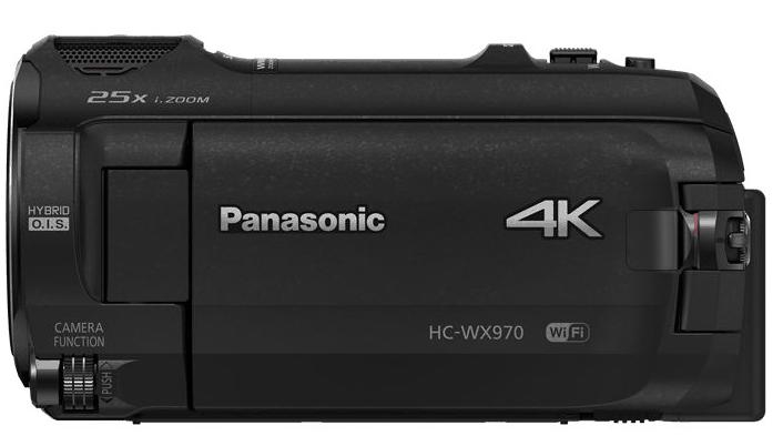 Panasonic HC-WX970, HC-WX970, 4K camcorders, Panasonic camcorders