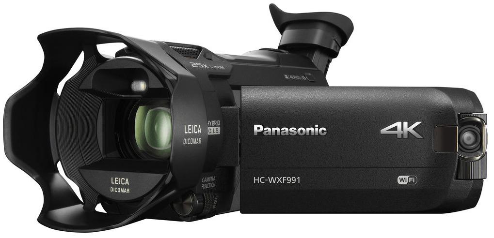 Panasonic HC-WXF991K, 4K camcorders, HC-WXF991K, Panasonic camcorders