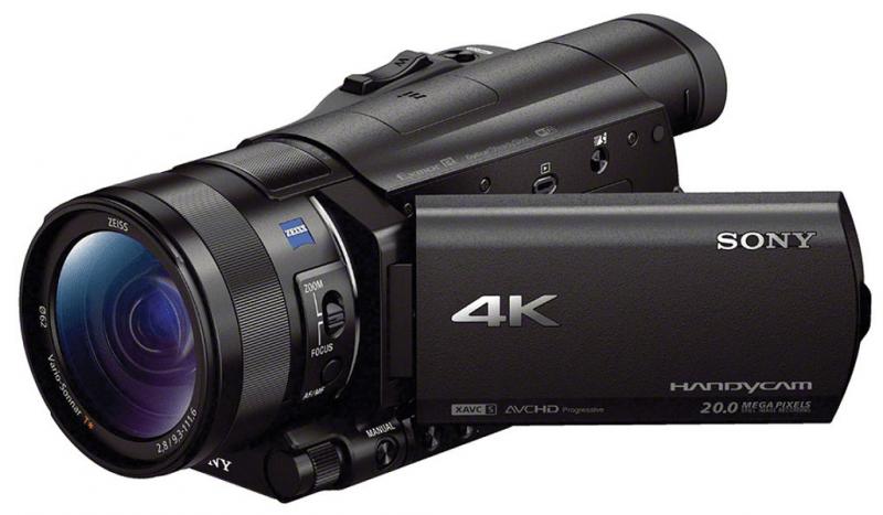Sony FDR AX100, Sony handycam, 4K camcorders, FDR AX100