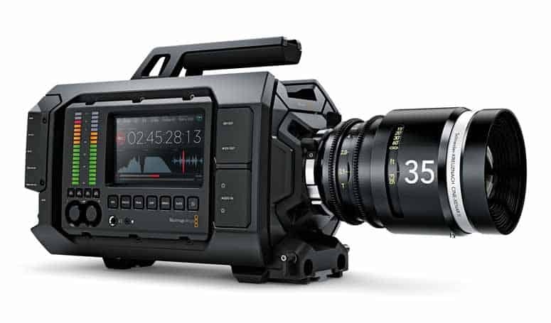 Black Magic Ursa, 4K camcorders
