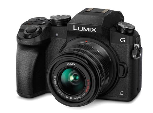 Panasonic LUMIX G7, 4K camera, digital camera