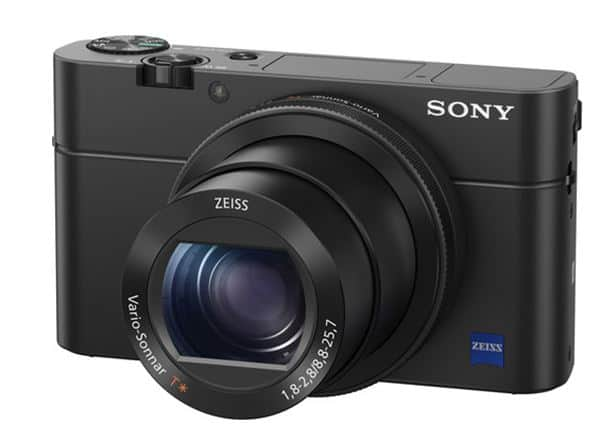 Sony Cyber-shot DSC-RX100 IV, digital camera, 4K camera