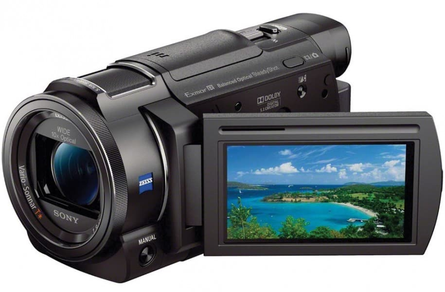 Sony FDR-AX33, 4K handy camcorders