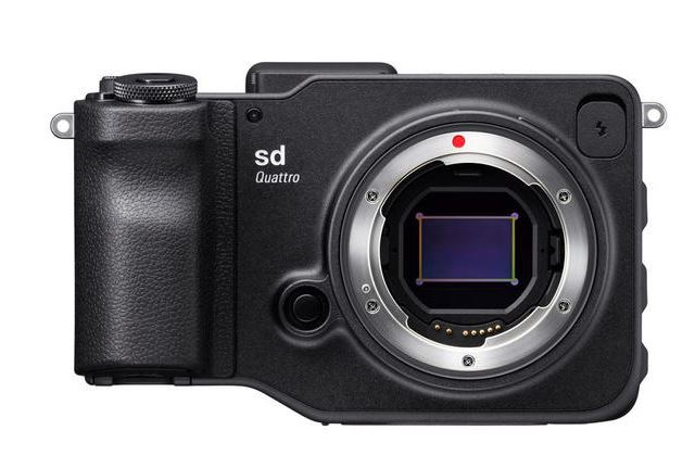 Sigma sd Quattro, mirrorless camera
