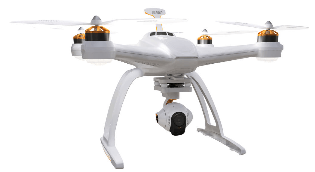 4K flying camera, top 4K Drones, Horizon Hobby Blade Chroma with CGO3 4K Camera
