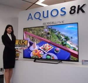 8K TV broadcasting